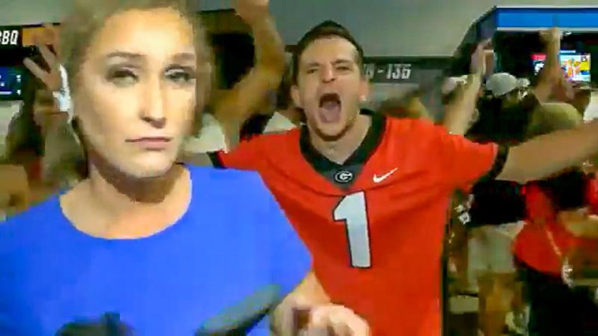 Georgia sports reporter shares video of fans who 'violated' her on camera