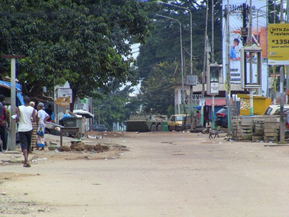Elite Guinea army unit says it's overthrown president