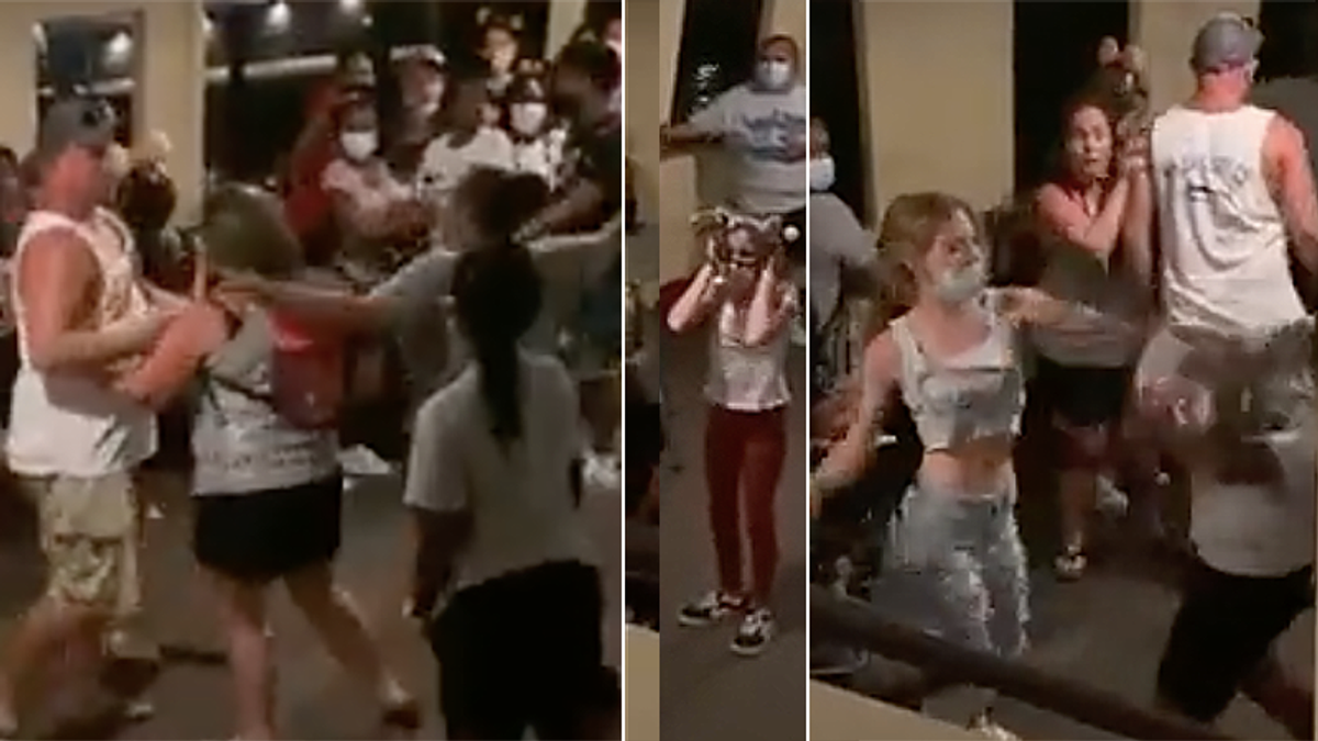 Fight breaks out on Florida's Disney World boat to Magic Kingdom hours after an active shooter threat