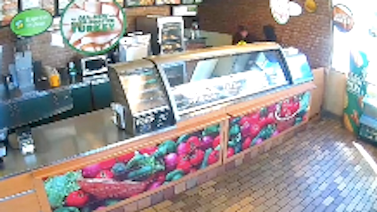 Subway worker says she was suspended after viral video showed her fighting off armed robber