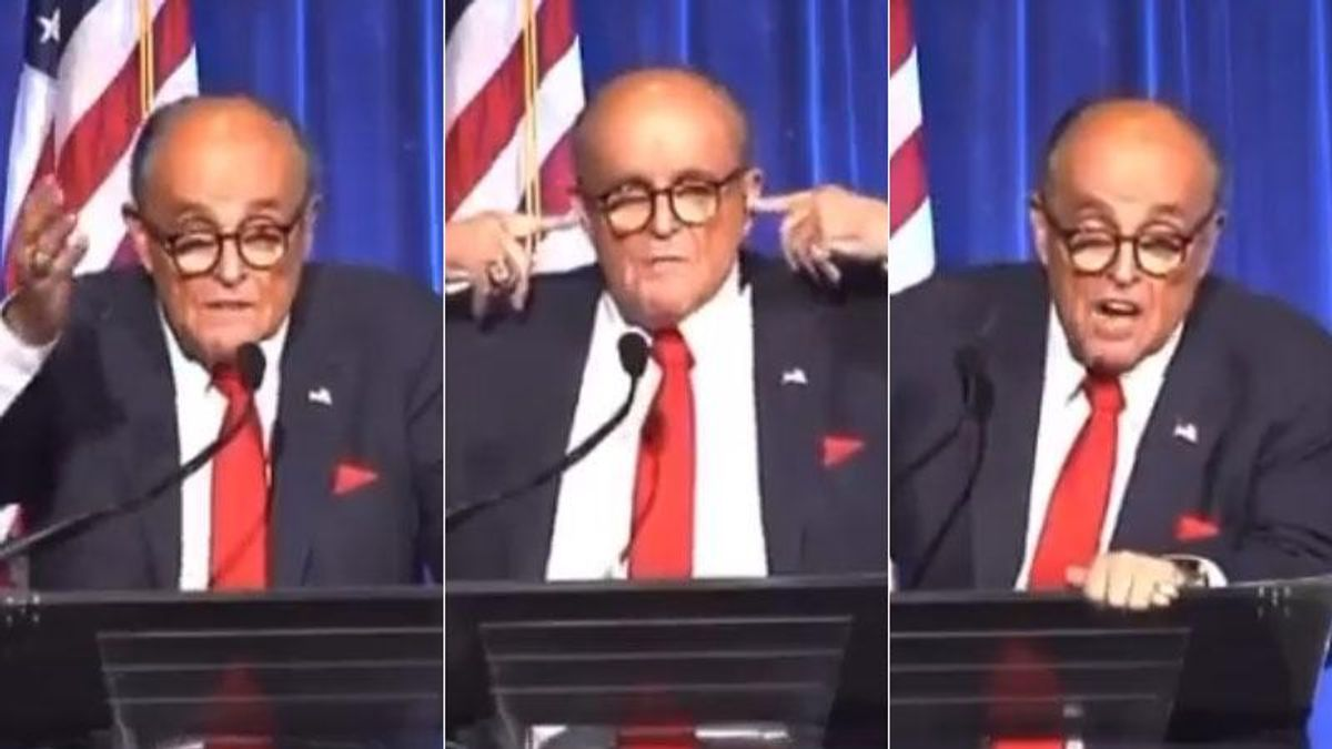 'I'm not an alcoholic -- I'm a functioning': Rudy Giuliani denies he was drunk during rambling 9/11 speech