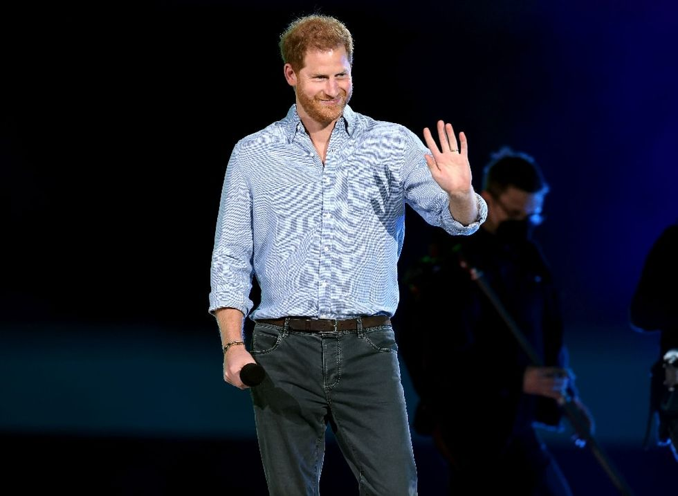 Prince Harry and Dr. Jill Biden pay tribute to America's veteran heroes wounded in war