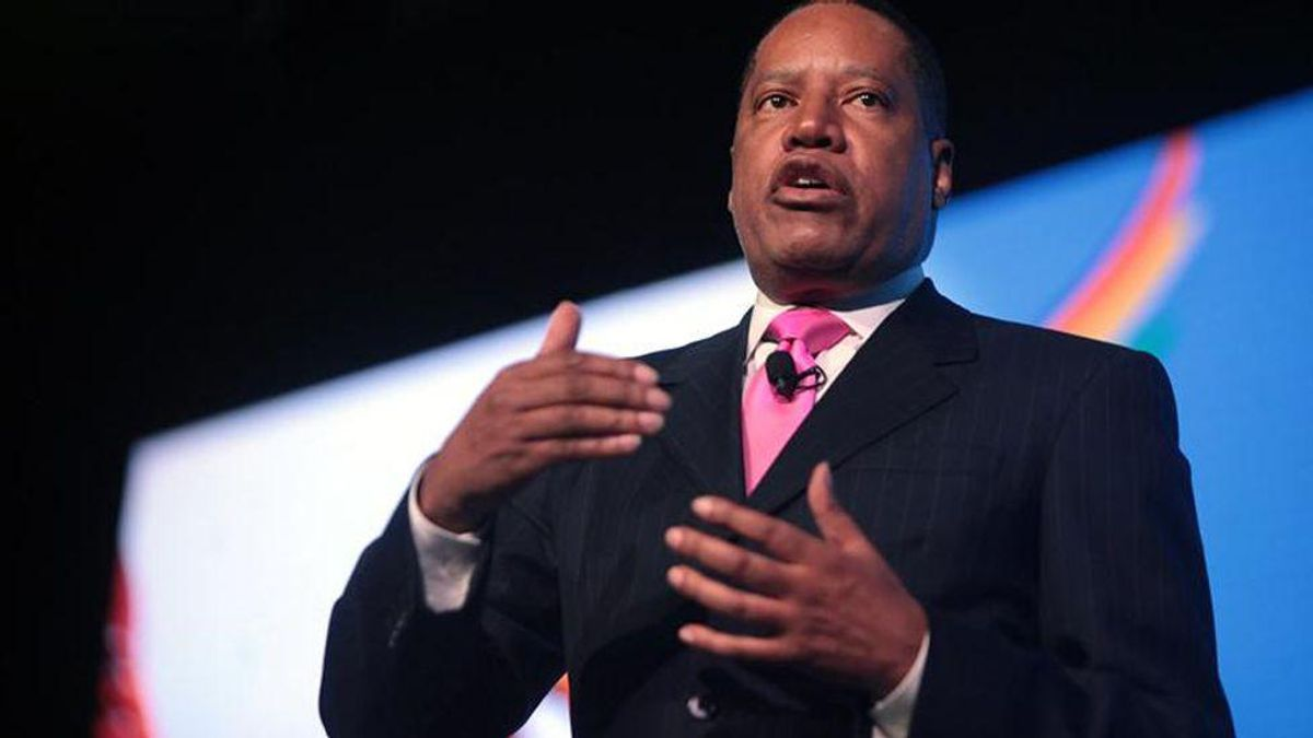 Larry Elder ridiculed for 'time traveling' to allege election fraud before the election is even over