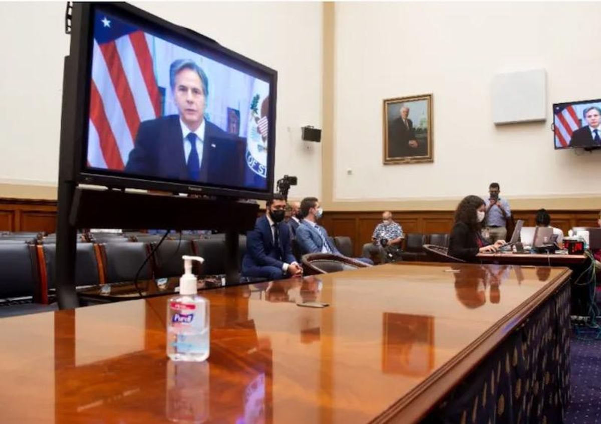 Blinken tells irate lawmakers the US was ready on Afghanistan