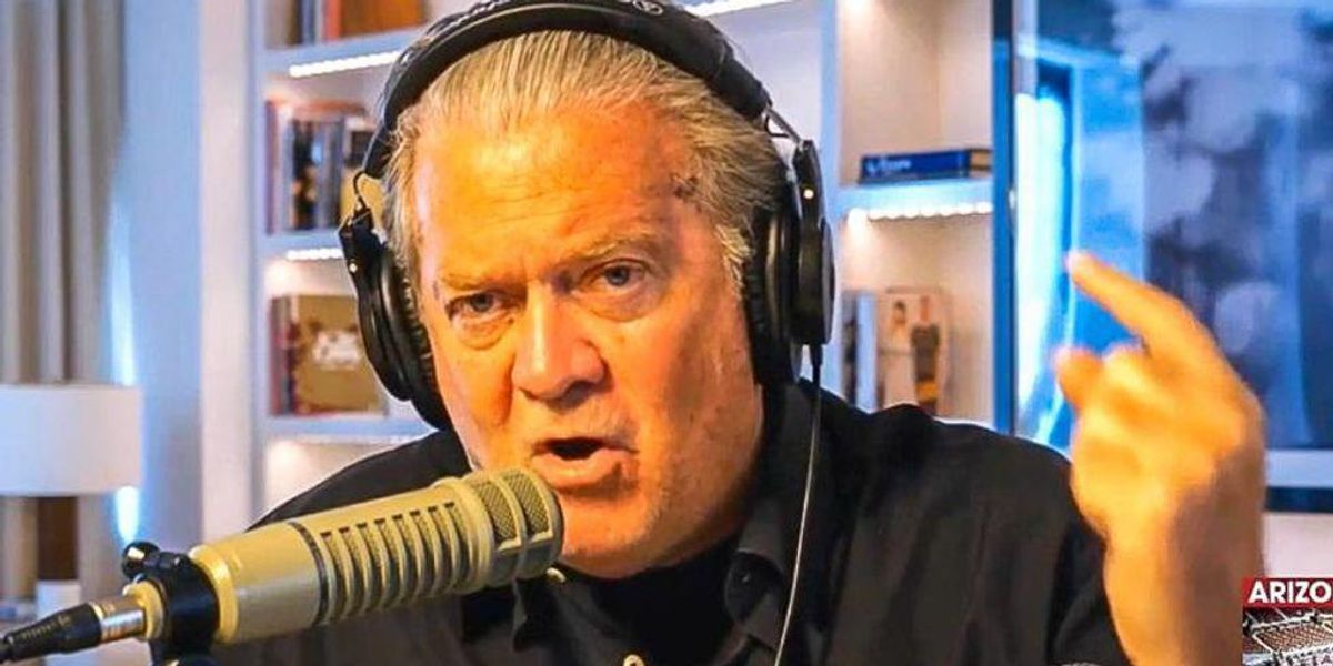 'We had this': Steve Bannon says Trump voters went cold for Larry Elder when he accepted Biden's win
