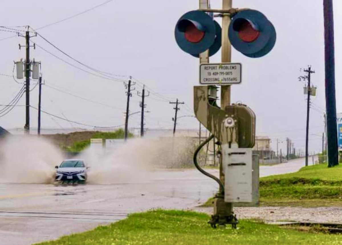 Storm Nicholas weakens but leaves 450,000 Texas homes without power