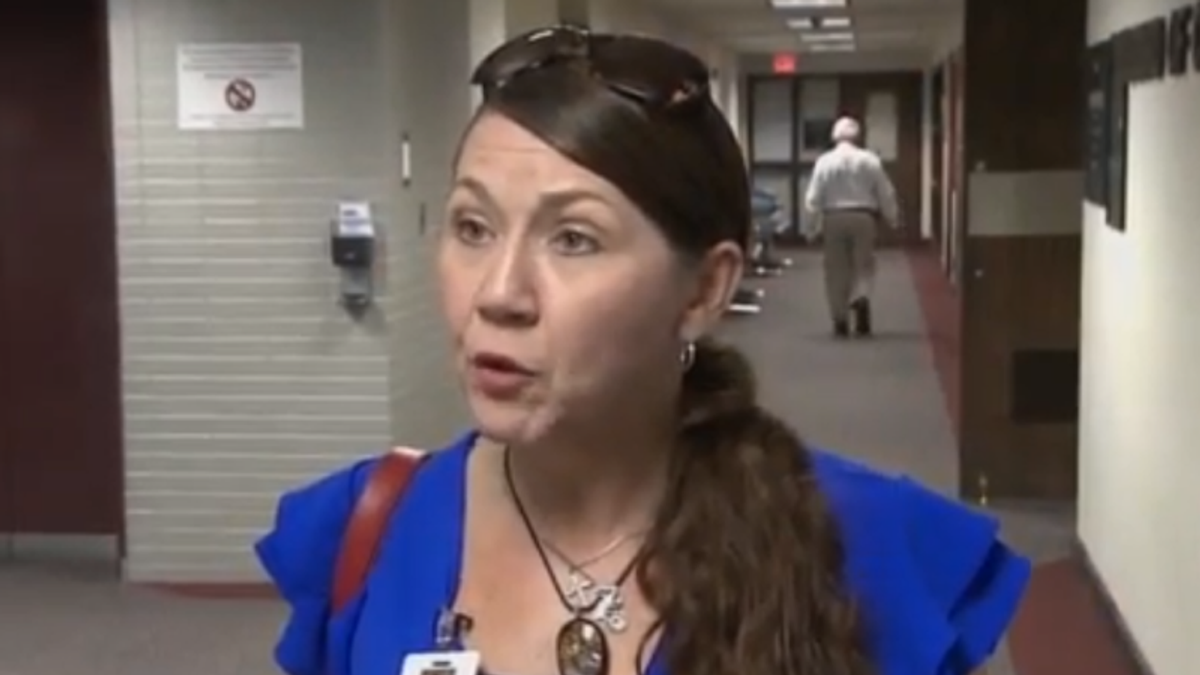 Right-wing commissioner snaps after reporter points out her anti-vaccine resolution is toothless: 'That is treasonous'