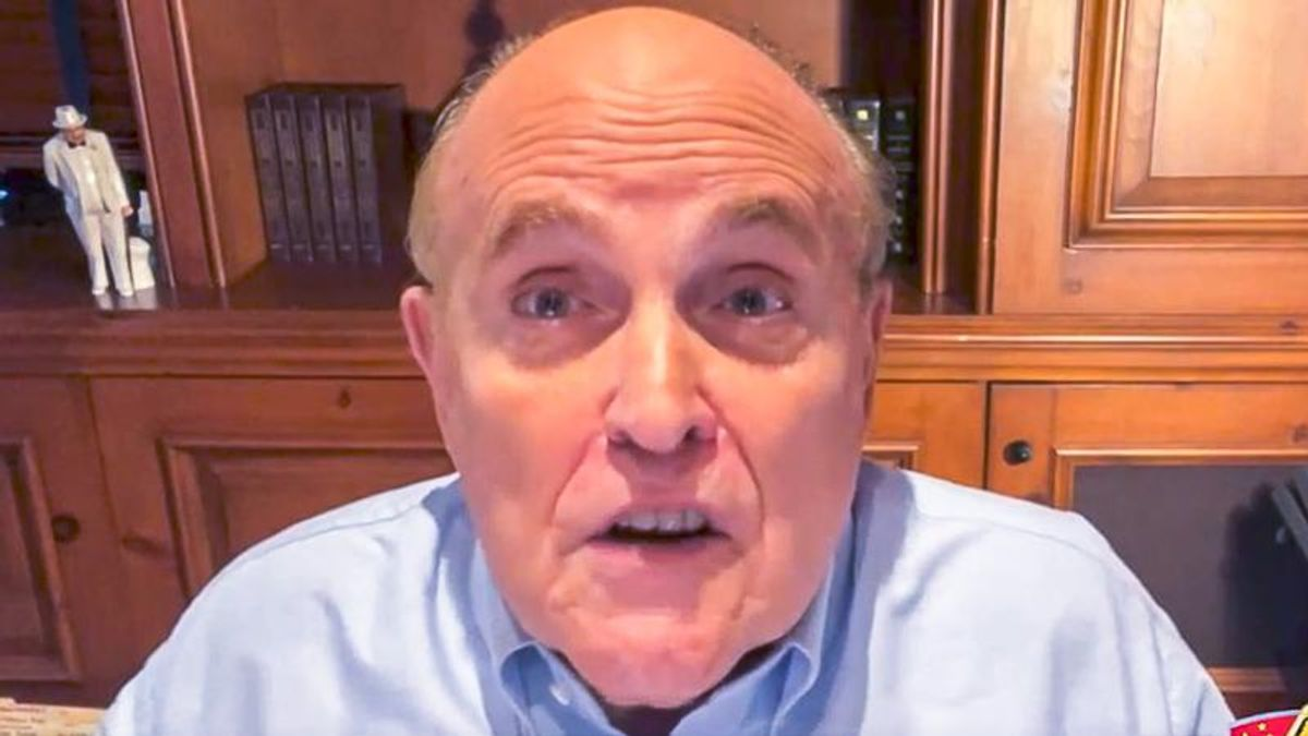Rudy Giuliani fears 'insanely hysterical' Gen. Milley will 'bomb white supremacists' to start a war