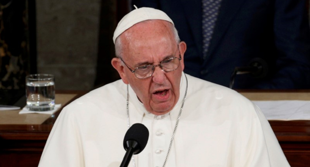 Pope rails against vaccine 'denier' cardinals