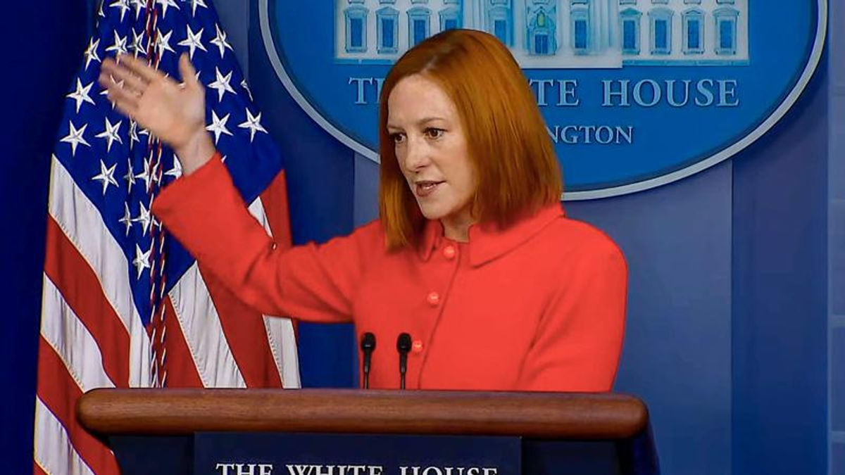 Jen Psaki praises Gen. Milley while destroying GOPers who 'stood by' as Trump 'fomented insurrection'