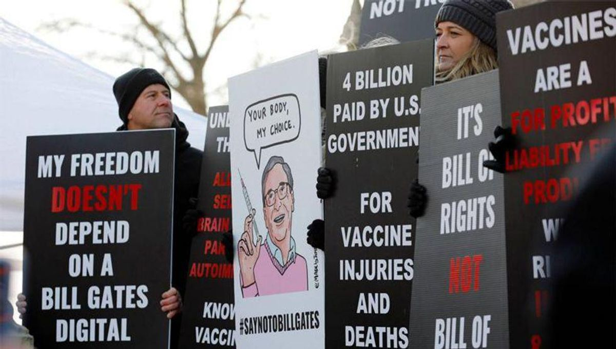 Anti-vaxxers are calling themselves 'purebloods' -- a term that draws 'parallels with Nazi doctrine': report