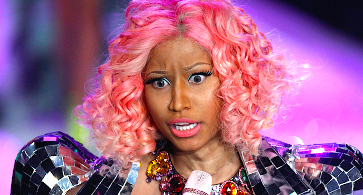 Anti-vaxxers praise Nicki Minaj for telling 'truth' about vaccines swelling testicles during CDC protest