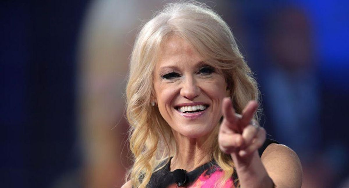 Defiant Kellyanne Conway refuses to quit Air Force Academy board -- and demands Biden fire her