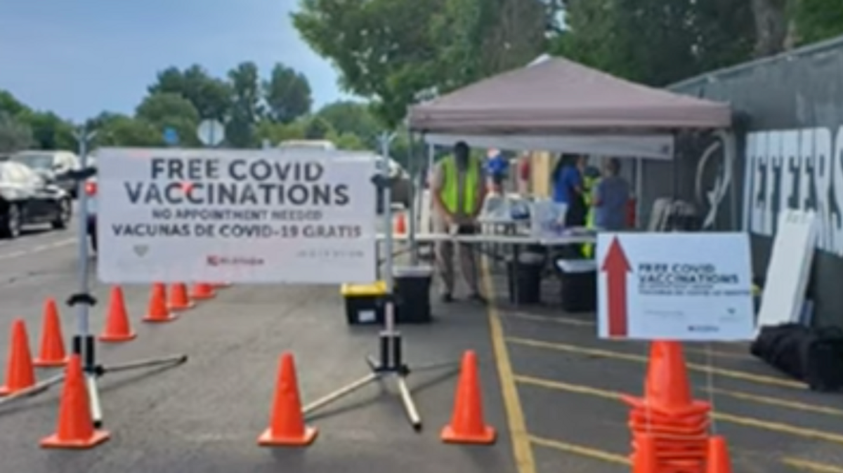 Anti-vaxxers throw live fireworks and garbage at Colorado clinics — forcing them to shut down