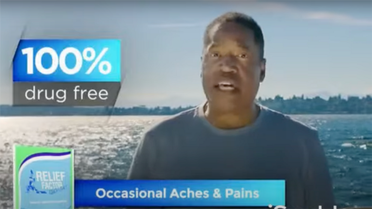 Larry Elder pitching 'combination of botanical ingredients and fish oil' while running for governor of California