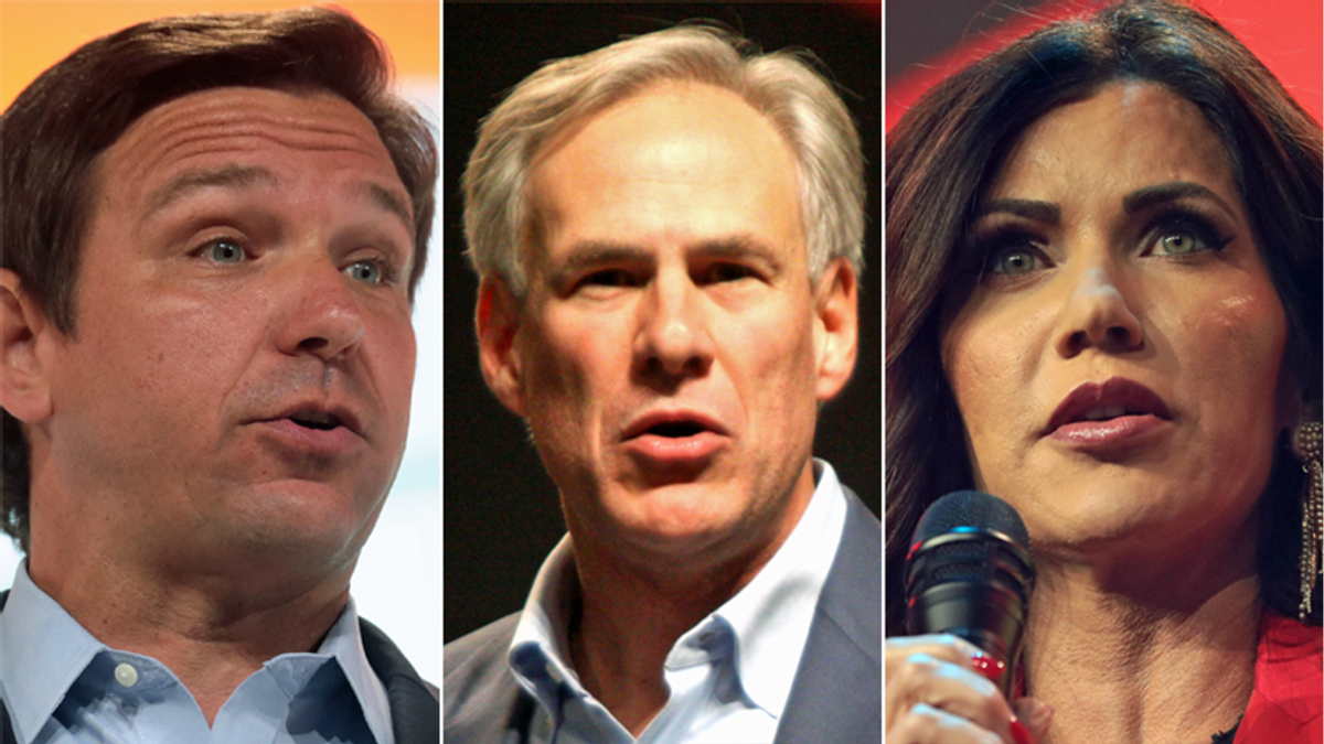GOP governors proved Biden right with their tantrums against vaccine mandates: conservative