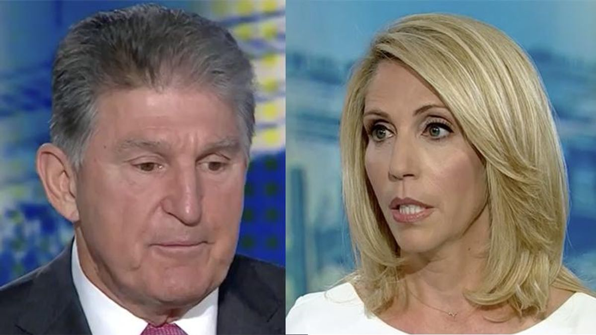 CNN's Dana Bash throws charges he's 'bought and paid for by corporate donors' in Joe Manchin's face