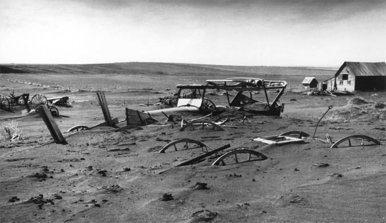 Road to nowhere: Oklahoma's Donald J. Trump Highway runs through the desolate Dust Bowl
