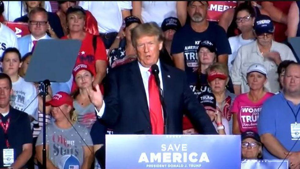 Legal expert says Trump's rally admission will help Georgia prosecutors investigating him