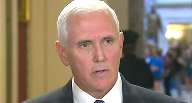 The humiliation of Mike Pence