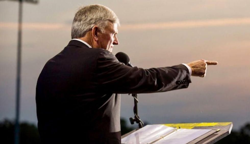 Franklin Graham rushes to defend Lt. governor who called LGBTQ people 'filth'