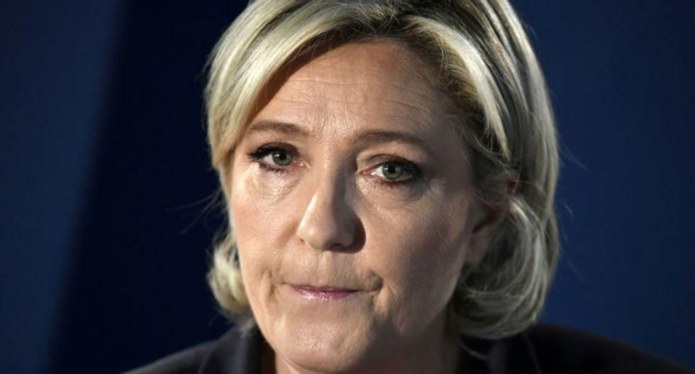 Marine Le Pen's bid for French presidency off to stormy start as far-right pundit steals her thunder
