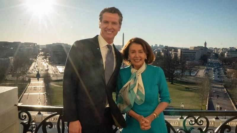 Here's why Gavin Newsom thinks his recall playbook could save Speaker Pelosi in the midterm elections