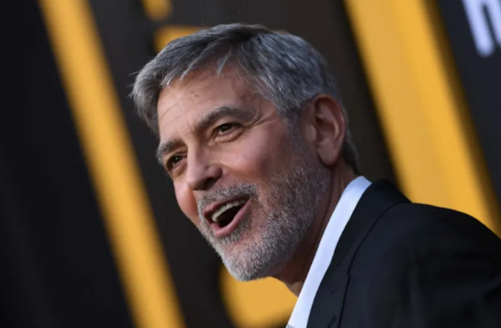 George Clooney mocks Trump as a 'knucklehead' who was chasing girls: 'That's all he was'