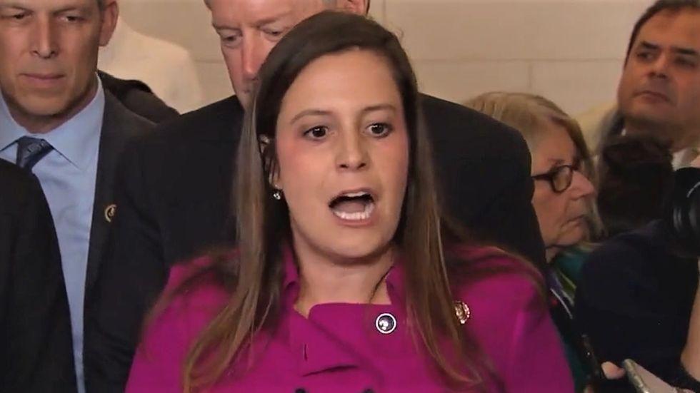 Elise Stefanik's bid for GOP leadership hits stumbling block as Texan throws hat in the ring