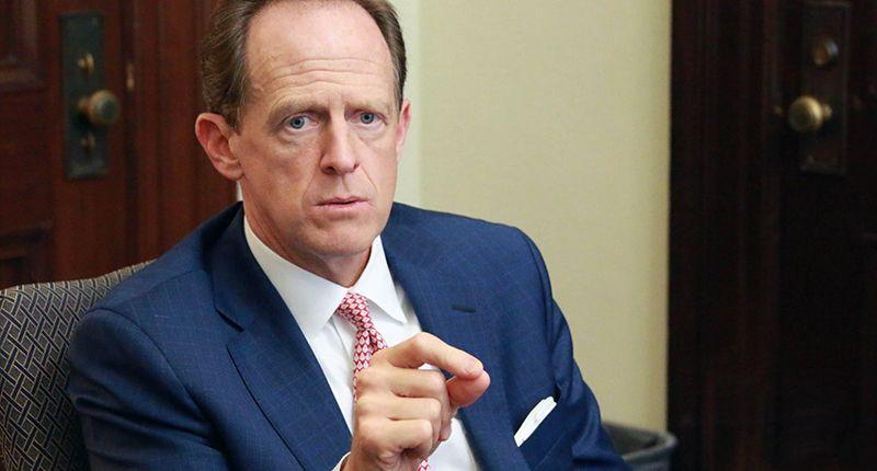 Pennsylvania Republicans hold censure meeting for their retiring GOP senator