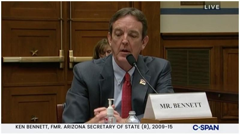 Arizona 'director' Ken Bennett headlining 'audit' town halls with group that organized 'Justice for J6' rallies