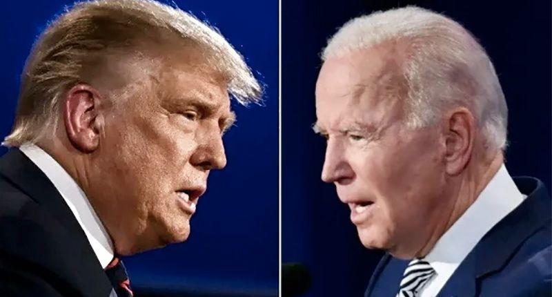 Trump accidentally celebrates record stock market under Biden presidency