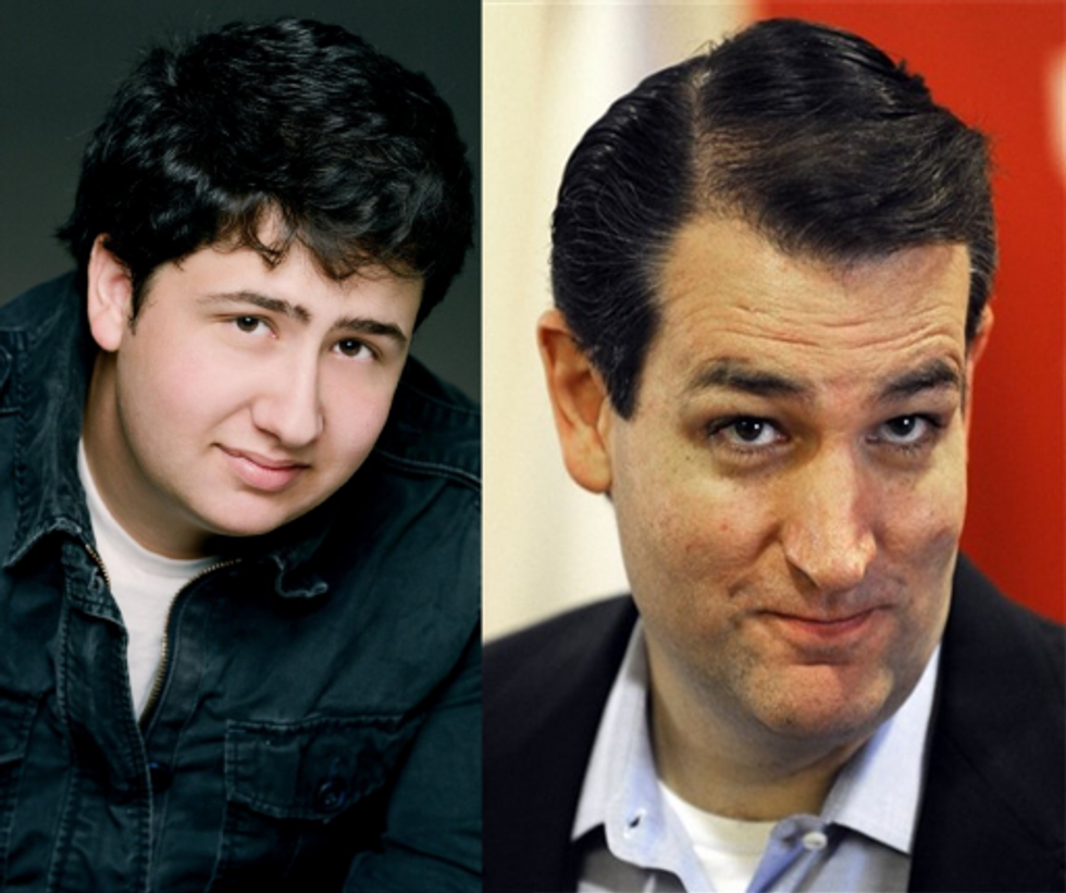 grown up Mark Del Figgalo is Ted Cruz