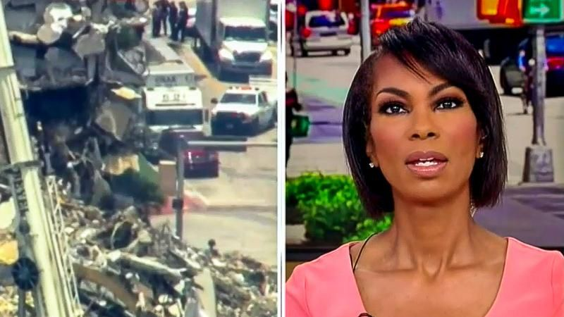 Fox News host suggests Florida building collapse is 'God's plan'