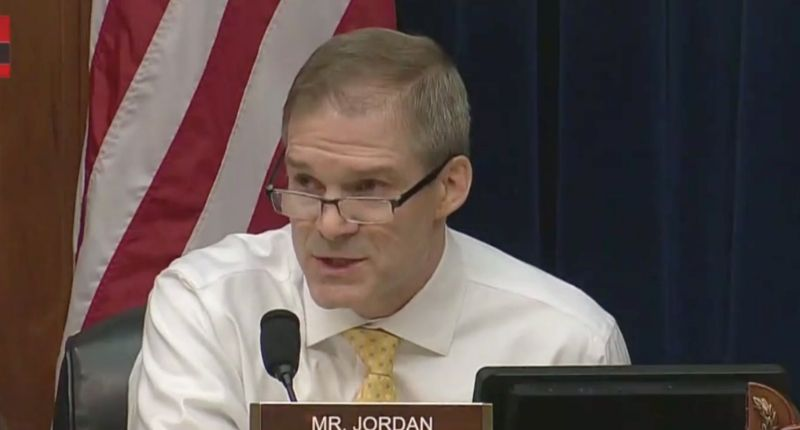 'Embarrassment to our nation': Jim Jordan faces furious backlash after using Capitol riot hearing to rant about Clinton