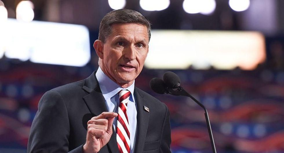 Michael Flynn: The 'Deep State' is plotting to spike your salad dressing with the COVID vaccine