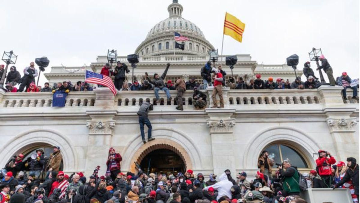 Trump backer wrote op-ed defending MAGA riots -- and never mentioned he was at Capitol on January 6th