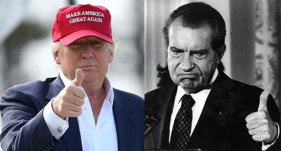 Here's why Trump's obstruction of justice reminds this Watergate prosecutor of Richard Nixon