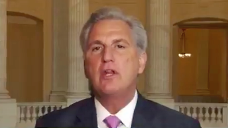 Kevin McCarthy argued GOP is the party of Abraham Lincoln, not racism. It did not go well