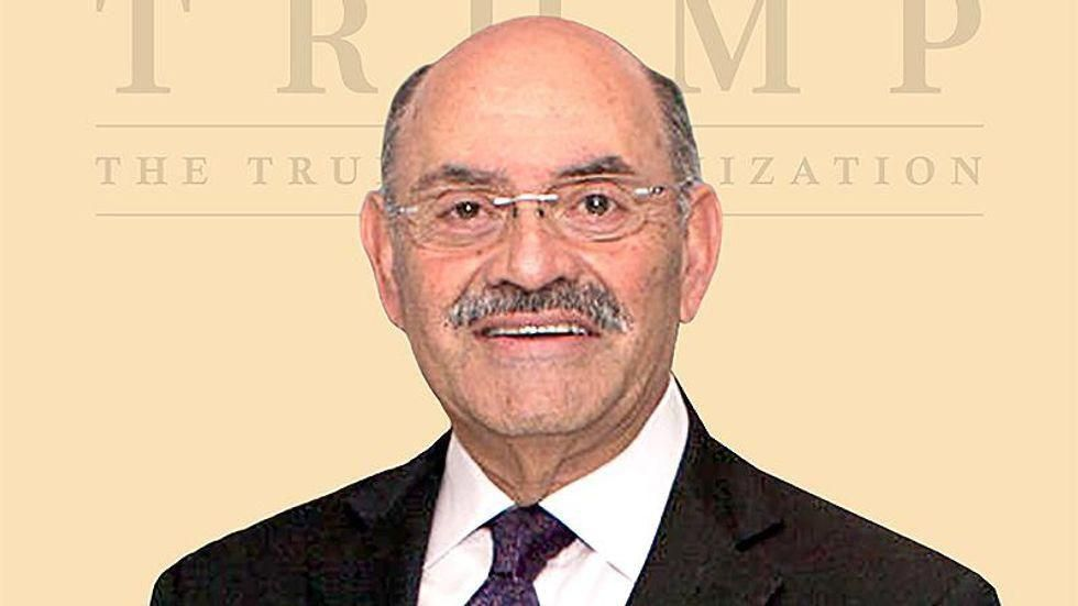 Criminal indictments officially filed against Allen Weisselberg by Manhattan district attorney