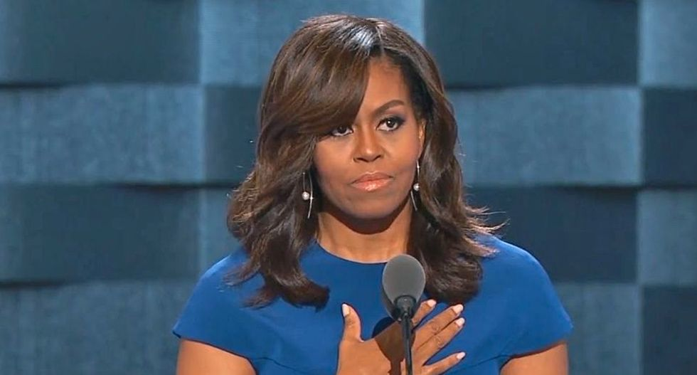 Michelle Obama is a surprise textbook example of how women thrive and grow through adulthood