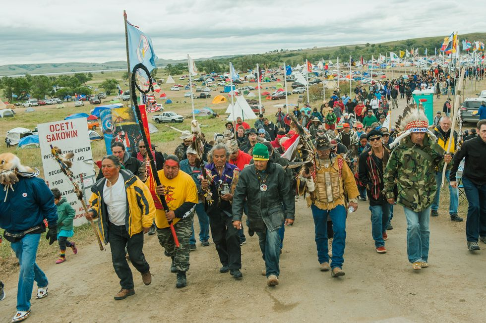 Clear evidence emerges of outrageous militarized police collusion with Big Oil at #StandingRock