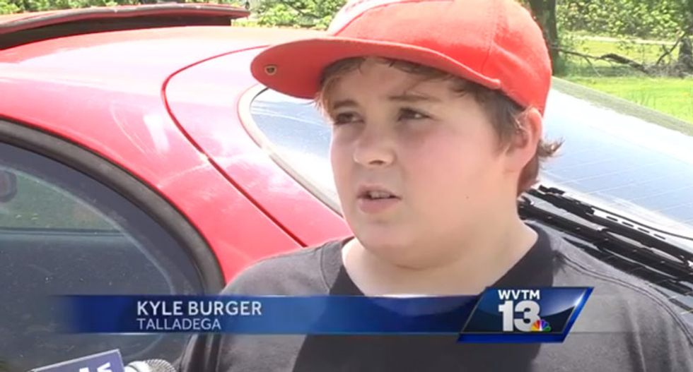 WATCH: 11-year old brags that burglar he shot 'started crying like a little baby'