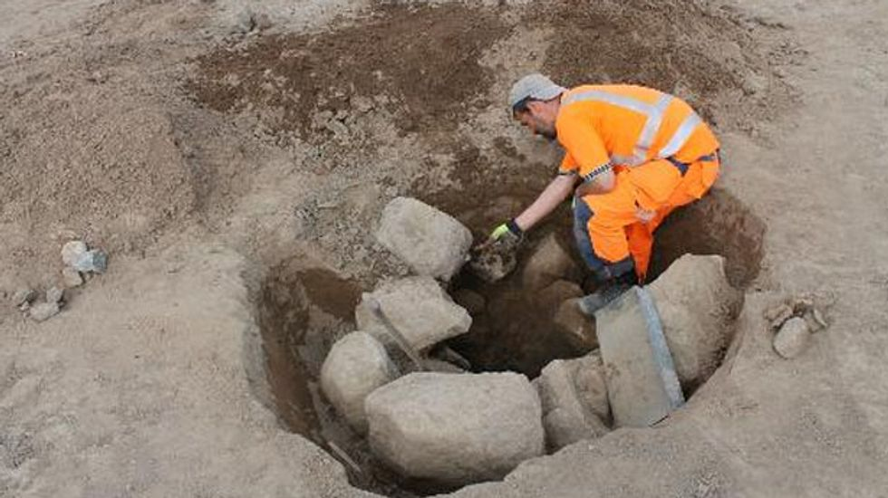 Archaeologists uncover Sweden's largest pre-Christian Iron Age monument