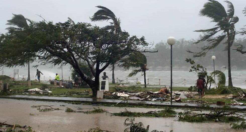 Island nation of Vanuatu appeals for help after 'Super Cyclone Pam' leaves trail of destruction