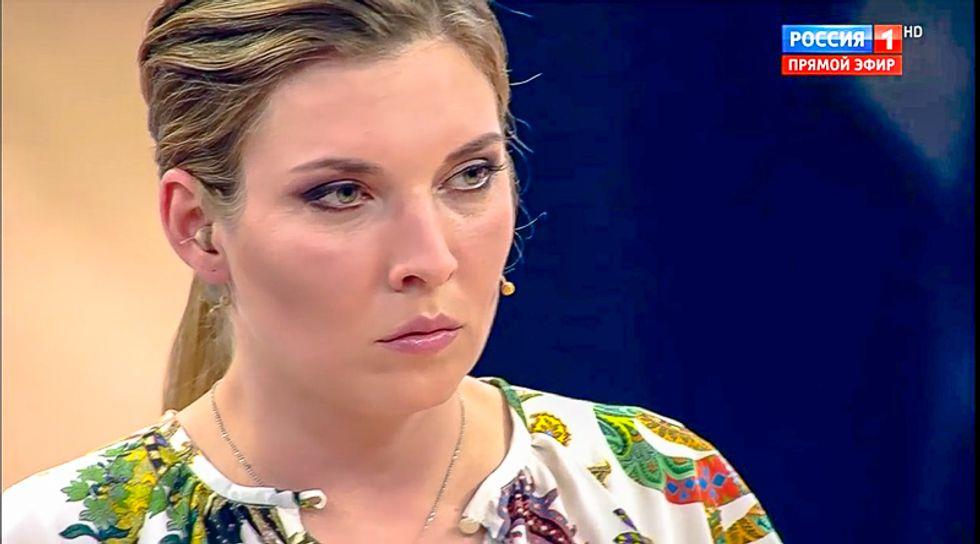 Russian state TV host pegs Trump as a Putin asset: 'He really smells like an agent of the Kremlin'