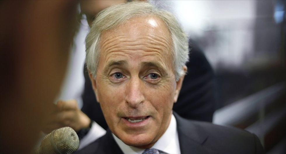 'White House has become an adult day care center': Donald Trump and Republican Sen. Bob Corker in massive Twitter feud