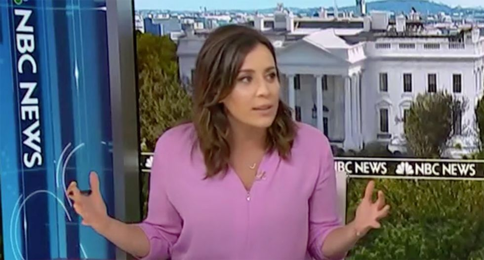 MSNBC's Hallie Jackson breaks down the 'Wag the Dog' theory of why Donald Trump wants war with Iran