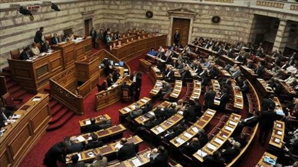 Greece suspends state aid to neo-Nazi party