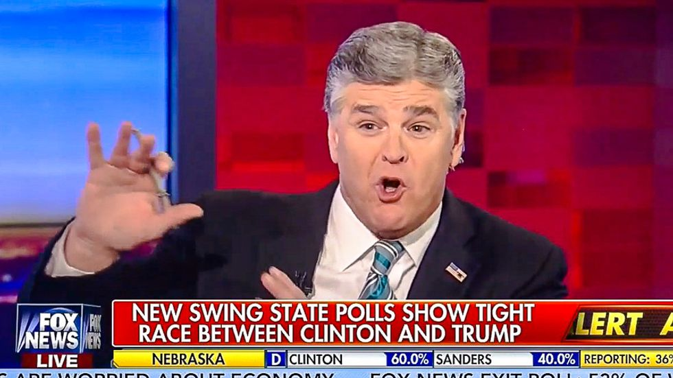 'We're right, they're wrong': Hannity doubles down on DNC murder conspiracy after Fox retracts story